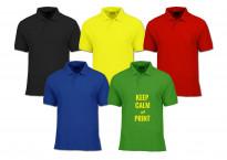 Polo colorat personalizat o culoare