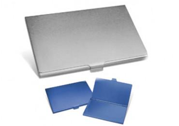 Suport pentru carti de vizita din aluminiu, personalizat