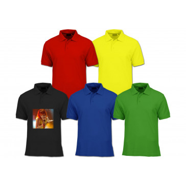 Polo colorat personalizat FULL color