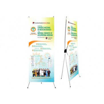 Banner suport reglabil